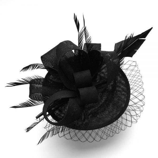 Black Fascinator