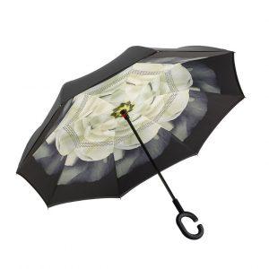 Green Inverted Umbrella